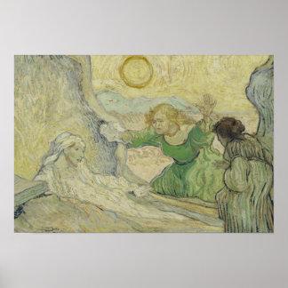 Vincent van Gogh - The Raising of Lazarus Poster
