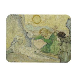 Vincent van Gogh - The Raising of Lazarus Rectangular Photo Magnet