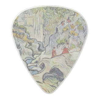 Vincent van Gogh | The ravine of the Peyroulets Acetal Guitar Pick