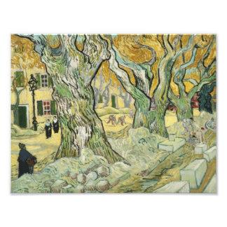 Vincent van Gogh - The Road Menders Art Photo