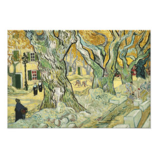 Vincent van Gogh - The Road Menders Photo Print