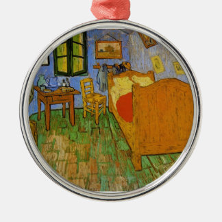Vincent Van Gogh - the ROOM Silver-Colored Round Decoration