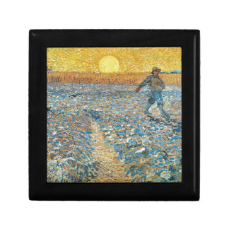 Vincent Van Gogh The Sower Painting Art Gift Box
