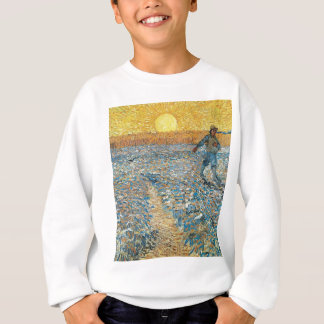 Vincent Van Gogh The Sower Painting Art Sweatshirt