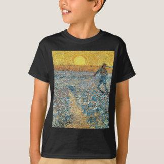 Vincent Van Gogh The Sower Painting Art T-Shirt