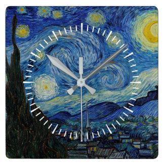 Vincent van Gogh - The Starry Night | Masterpiece Clock