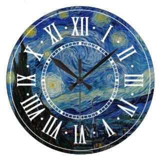 Vincent van Gogh - The Starry Night | Masterpiece Wallclocks