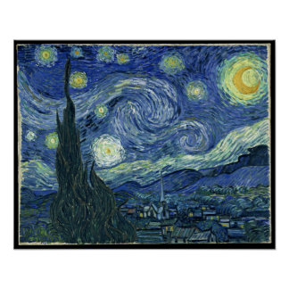 Vincent Van Gogh The Starry Night Posters