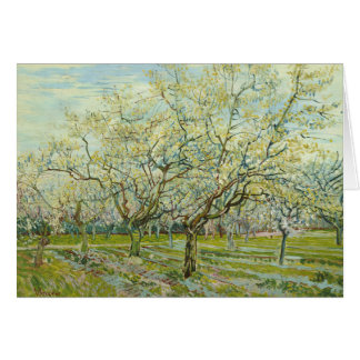 Vincent van Gogh - The White Orchard Card