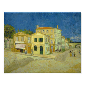 Vincent van Gogh - The Yellow House (`The Street') Photo