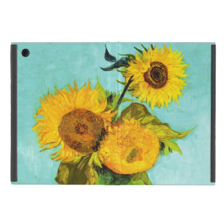 Vincent Van Gogh Three Sunflowers In A Vase Cover For iPad Mini