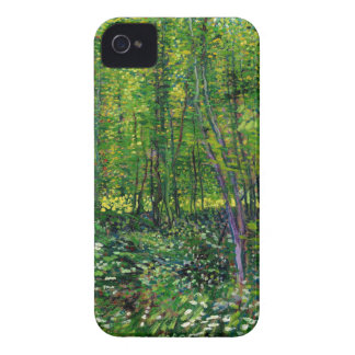 Vincent Van Gogh Trees And Undergrowth iPhone 4 Cover