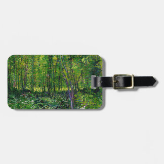 Vincent Van Gogh Trees And Undergrowth Luggage Tag