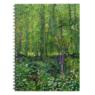 Vincent Van Gogh Trees And Undergrowth Notebooks