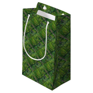 Vincent Van Gogh Trees And Undergrowth Small Gift Bag