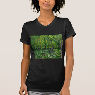 Vincent Van Gogh Trees And Undergrowth T-Shirt