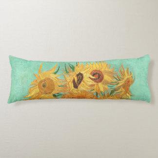 Vincent Van Gogh Twelve Sunflowers In A Vase Body Cushion