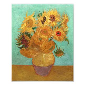 Vincent Van Gogh Twelve Sunflowers In A Vase Photo