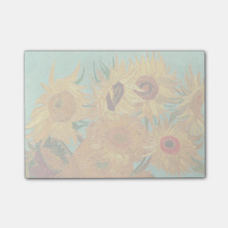 Vincent Van Gogh Twelve Sunflowers In A Vase Post-it Notes