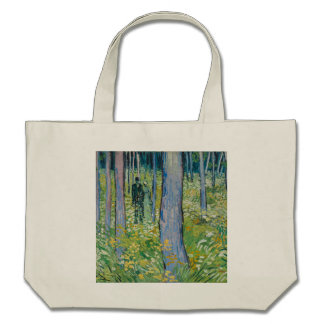 Vincent van Gogh - Undergrowth with Two Figures Bag