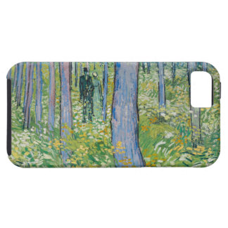 Vincent van Gogh - Undergrowth with Two Figures iPhone 5/5S Cases