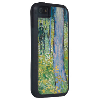 Vincent van Gogh - Undergrowth with Two Figures iPhone 5 Case