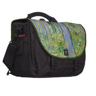 Vincent van Gogh - Undergrowth with Two Figures Laptop Computer Bag