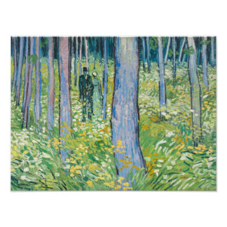 Vincent van Gogh - Undergrowth with Two Figures Photographic Print