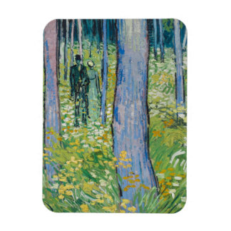 Vincent van Gogh - Undergrowth with Two Figures Magnet