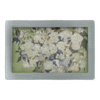 Vincent Van Gogh Vase of Roses Painting Floral Art Belt Buckles