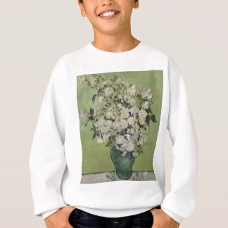 Vincent Van Gogh Vase of Roses Painting Floral Art Sweatshirt