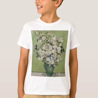 Vincent Van Gogh Vase of Roses Painting Floral Art T-Shirt