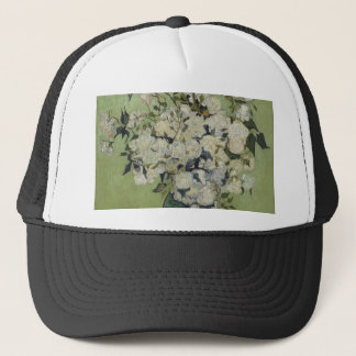 Vincent Van Gogh Vase of Roses Painting Floral Art Trucker Hat