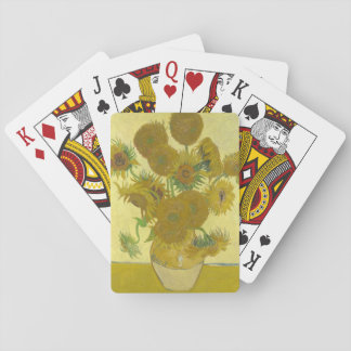 Vincent Van Gogh - Vase with Fourteen Sunflowers Playing Cards