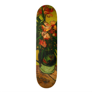 Vincent Van Gogh Vase With Oleanders And Books Skate Deck