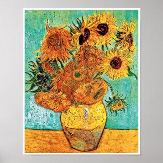 Vincent Van Gogh - Vase With Twelve Sunflowers Poster