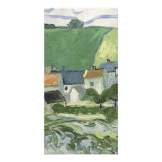 Vincent van Gogh - View of Auvers Photo Card