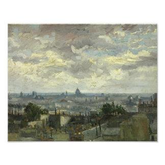Vincent van Gogh - View of Paris Photograph