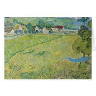 Vincent van Gogh - View of Vessenots Near Auvers Card