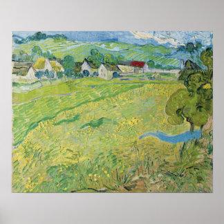 Vincent Van Gogh View Of Vessenots Near Auvers Poster