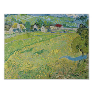 Vincent van Gogh - View of Vessenots Near Auvers Poster