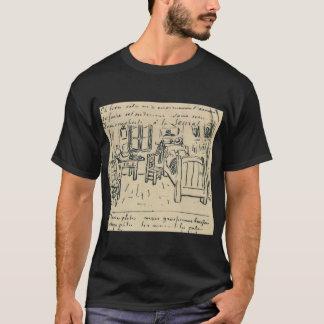 vincent van gogh  vincent s bedroom  lettersketch  T-Shirt
