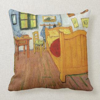 Vincent van Gogh-Vincent's Bedroom in Arles Throw Pillow