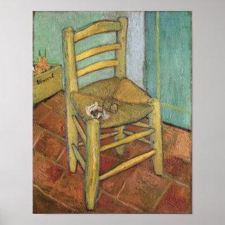 Vincent van Gogh | Vincent's Chair, 1888 Poster