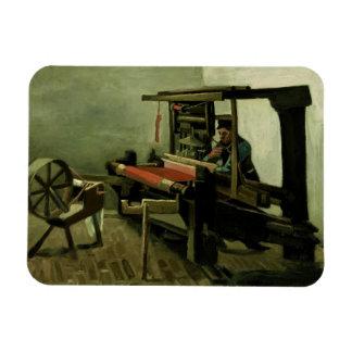 Vincent van Gogh - Weaver Rectangular Photo Magnet