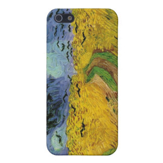 Vincent van Gogh Wheat Field Threatening Skies Case For iPhone 5/5S