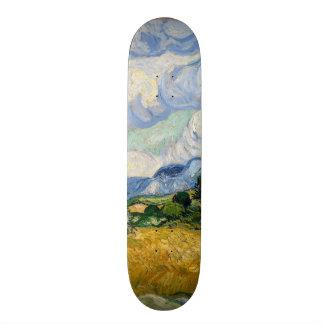 Vincent Van Gogh Wheat Field With Cypresses Custom Skate Board