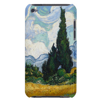 Vincent Van Gogh Wheat Field With Cypresses iPod Touch Covers