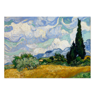 Vincent Van Gogh Wheat Field With Cypresses Pack Of Chubby Business Cards