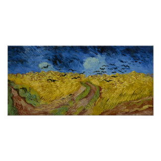 Vincent van Gogh - Wheatfield with crows Posters
